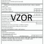 Protokol o ekologické likvidaci - převzetí autovraku